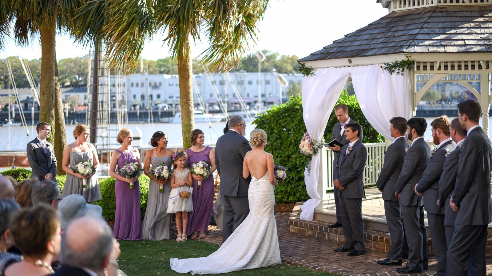 Outdoor Wedding Ceremony: Savannah, GA Wedding Venues